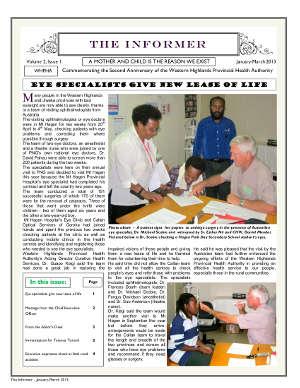 WHPHA News January-February 2013 issue