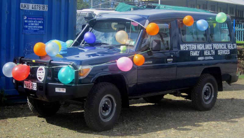 Hagen Family Health Services Vehicle
