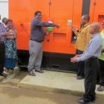 Commissioning of new 550KVA Generator