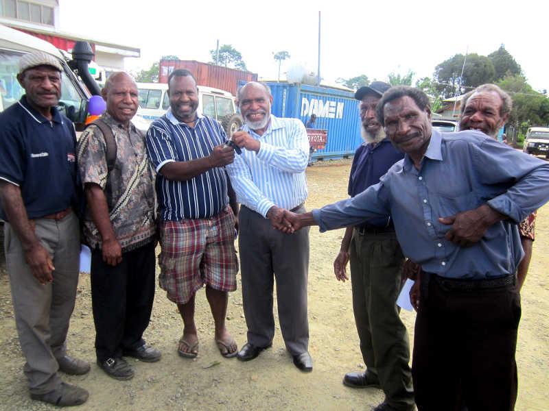 Kotna District Hospital receives new ambulance
