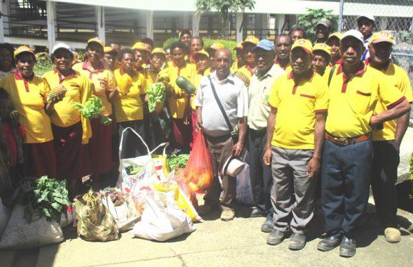 SDA Church donates food to Mt Hagen Hospital