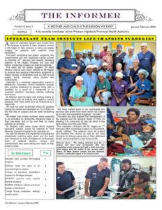WHPHA News January-February 2020 issue